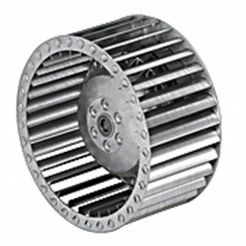 Centrifugal fan with forward curved blades