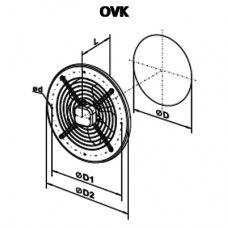 OVK 2E 250 Axial Fan