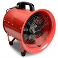 Portable metal axial fan